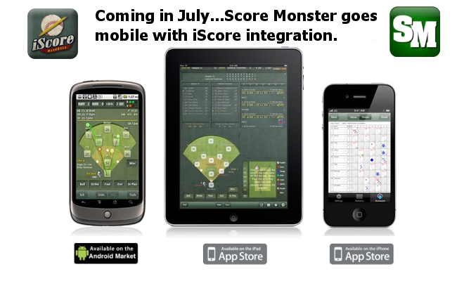 SCOREMONSTER GOES MOBILE WITH ISCORE INTEGRATION